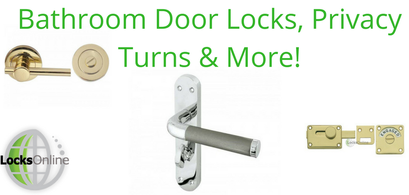 Bathroom Door Locks, Privacy Turns and More!