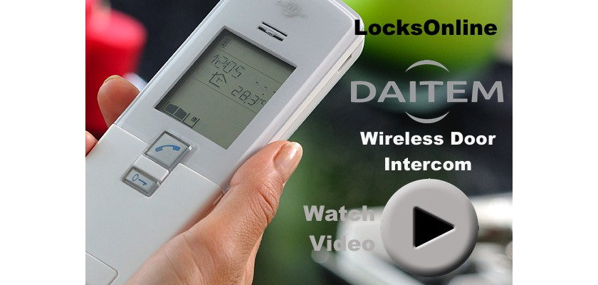 Daitem Wireless Door Intercom - Video Review - Exclusive LocksOnline