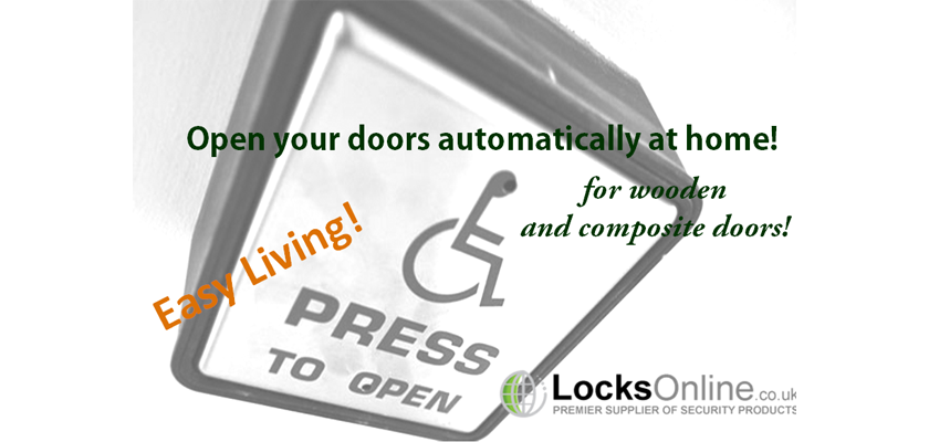 Disabled access at home - Easy living for wooden and composite doors