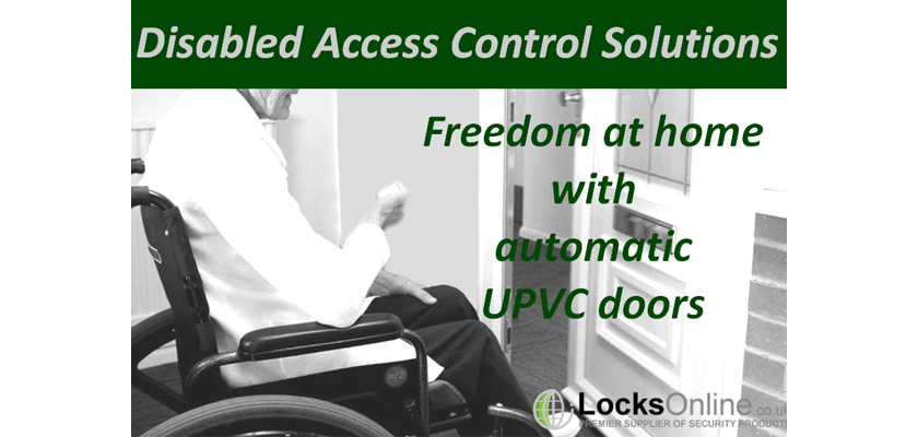Disabled Facilities - Freedom with uPVC doors