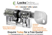 Anti Bump, Anti Pick, Anti Snap Security Door Cylinders
