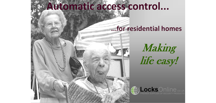 Elderly home safety - Access control solutions