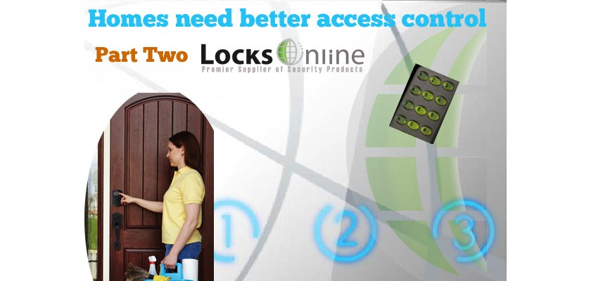Keypad Access Control for Homes -- Yes Please ! pt2