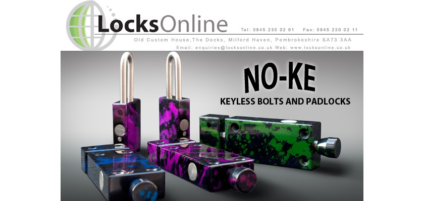 Keyless Bolts - No key, no problem? An Innovative solution from Locksonline and No-Ke