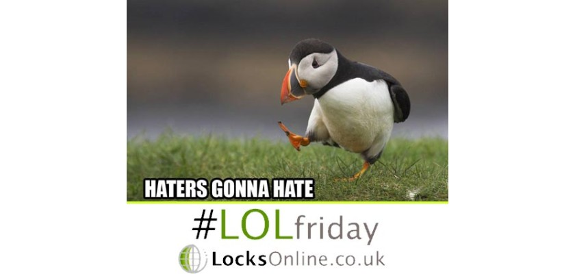 LOLFriday Last Giggle for the day for #LOLFriday have a great weekend from all @Locks_Online