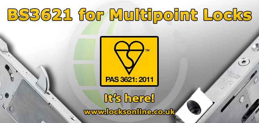 BS3621 on your uPVC Door? Introducing the new PAS3621 for Multipoint Locks!