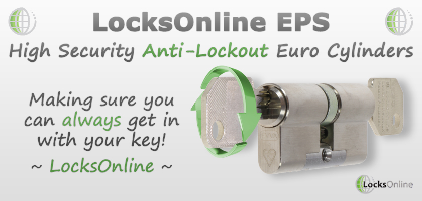 Locksonline Eps Quot Anti Lockout Quot Euro Cylinders Unlockable