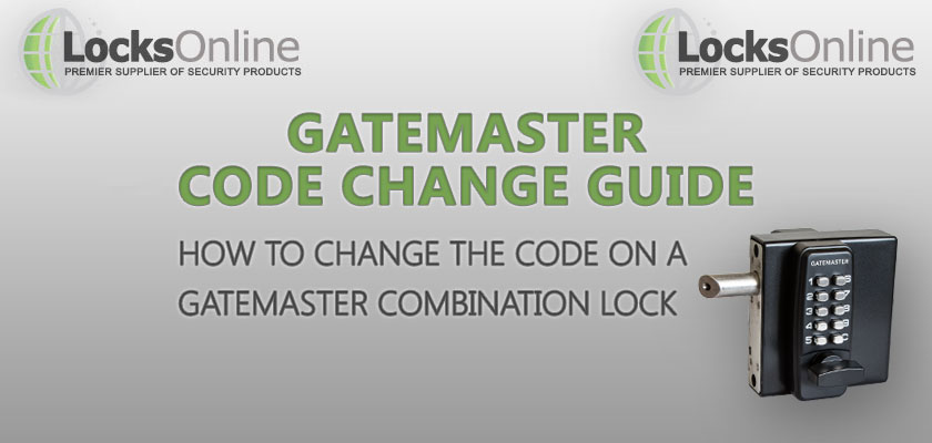 How to Change the Code on Gatemaster Combination Locks