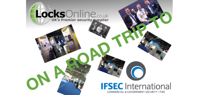 Locks Online attended the IFSEC Exhibition