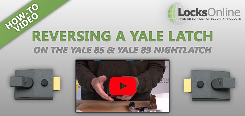 [VIDEO] How to Reverse the Latch on a Yale Nightlatch