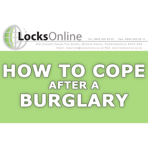 how to feel safe in your home after burglary