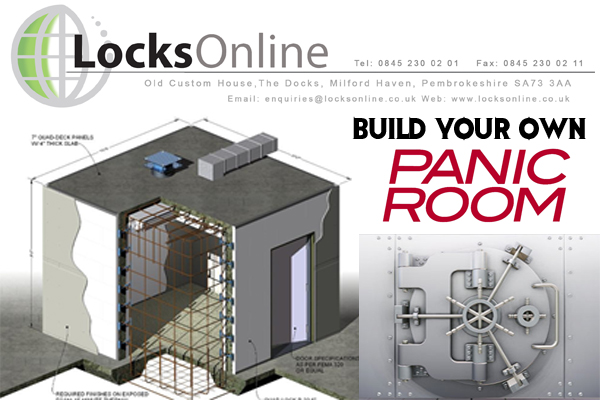Build your own panic room with locksonline locks online for Build your house