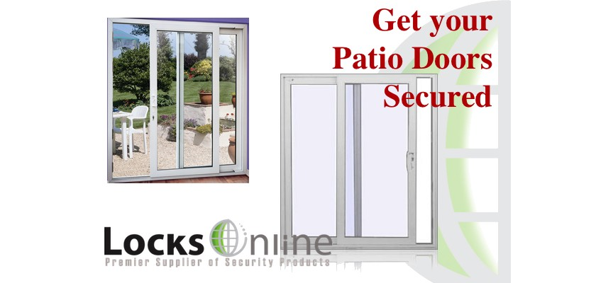 Patio Door Security - Its a must guys on those old Patio Doors - Exclusive