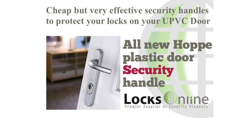 Plastic Door Handles - Great Value - Brilliant Security