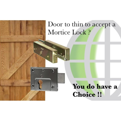 Is Your Door Too Thin To Take A Mortice Lock Locks Online