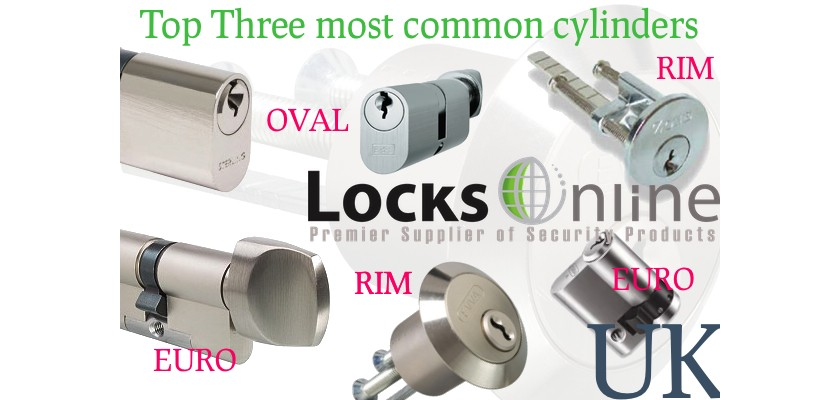 Security Cylinders - Top 3 Used in the UK