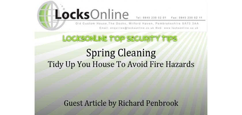 Spring Cleaning Tidy Up Your House To Avoid Fire Hazards