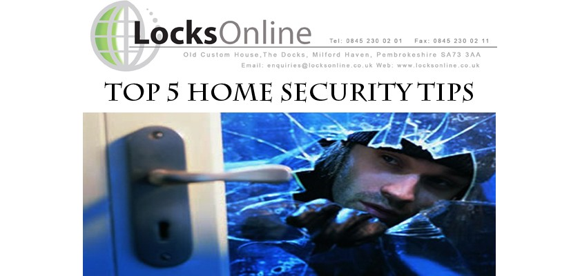 LocksOnline Top 5 Ways To Increase Home Security