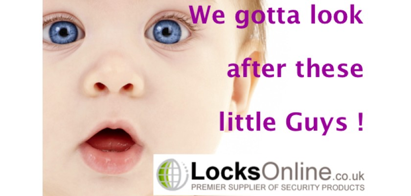 Yeah I know we are not MotherCare ... Child Safety Locks