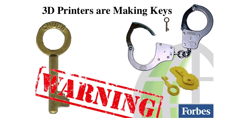 Keys are Being made by 3D Printers - Exclusive