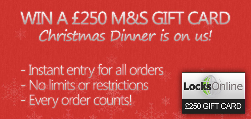 Win a £250 Marks & Spencer Gift Card by Shopping at LocksOnline!