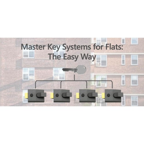 Need a master-key system for a block of flats? Here's the easy way