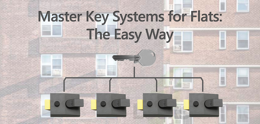 Need a master-key system for a block of flats? Here's the easy way..