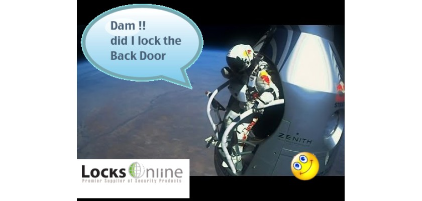 #LOLFriday - Something tells me his back door lock was not on his list - Welcome to another LOLFriday :-)