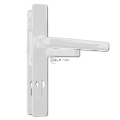 ASEC 70 PZ uPVC Lever Handles for Ferco Locks - 205mm (180mm fixings)