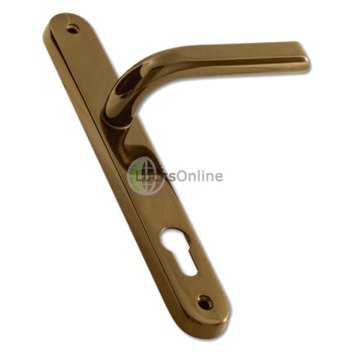 Main photo of ASEC 85mm PZ Lever Handles for uPVC Doors - 242mm (211.5mm fixings)