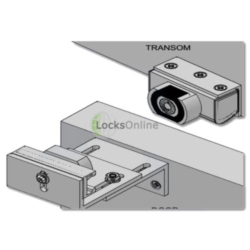 Micro-Mag Mini Maglock Kit for Inward Opening Doors