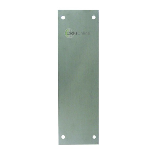 Main photo of ASEC 75mm Wide Stainless Steel Finger Plate - 225mm Length