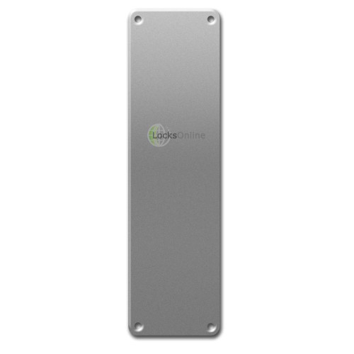 Main photo of ASEC 75mm Wide Stainless Steel Finger Plate 300mm Length