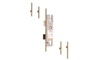 KFV 4 Roller Lever Operated UPVC Multipoint Locks