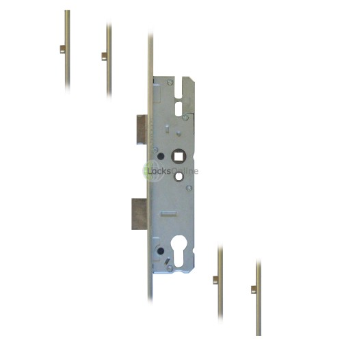 Main photo of KFV 4 Roller U-Rail Version UPVC Multipoint Locks