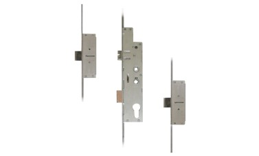 Fullex Crimebeater 2-Deadbolt Twin-Spindle Multpoint (20mm Radius Faceplate)