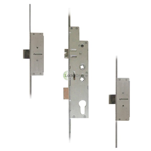 Main photo of Fullex Crimebeater 2-Deadbolt Twin-Spindle Multpoint (20mm Radius Faceplate)