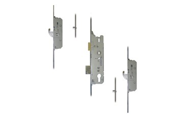 FUHR 859 2-Hook, 2-Roller Split Spindle Multipoint Door Lock