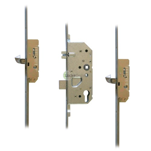 Main photo of FIX 6025 2-Hook Euro Profile Multipoint Door Lock