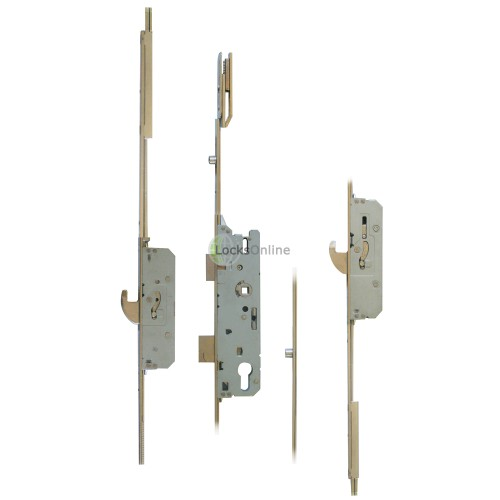 Main photo of FUHR 856-6 2-Hook, 2-Roller Multipoint Lock with Shootbolts