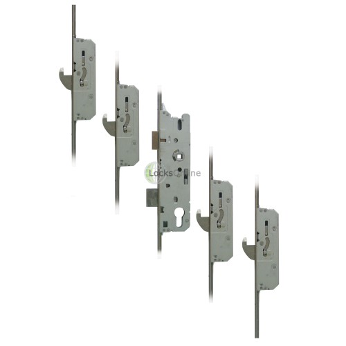 Main photo of FUHR 856-4 Four-Hook uPVC Door Multipoint Lock