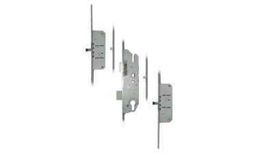 FUHR 855-8 2 Rollers, 2 Pins Key-Operated 'Key-Wind' Multipoint Lock