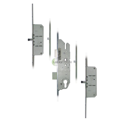 Main photo of FUHR 855-8 2 Rollers, 2 Pins Key-Operated 'Key-Wind' Multipoint Lock