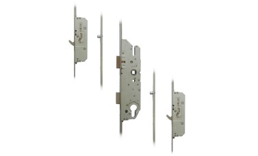 FUHR 855-3 2 Hook, 2 Roller Key-Operated 'Key-Wind' Multipoint Lock