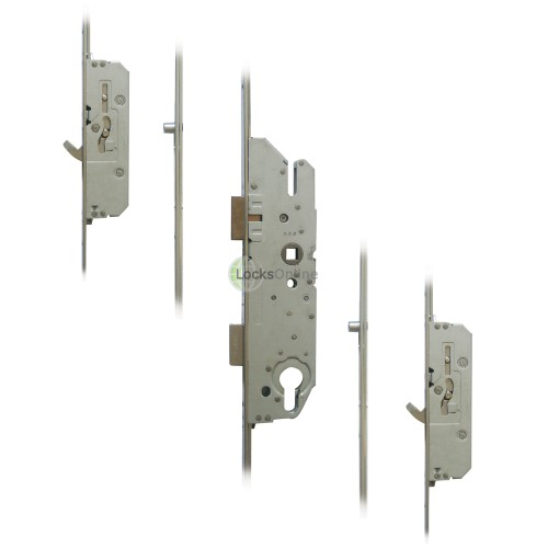 Main photo of FUHR 855-3 2 Hook, 2 Roller Key-Operated 'Key-Wind' Multipoint Lock