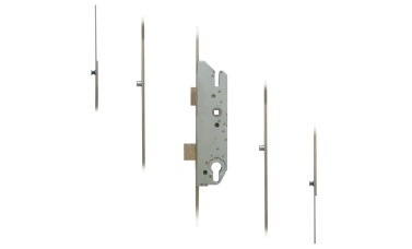 FUHR 855-2 2 Mushrooms & 2 Rollers Key-Operated 'Key-Wind' Multipoint Lock