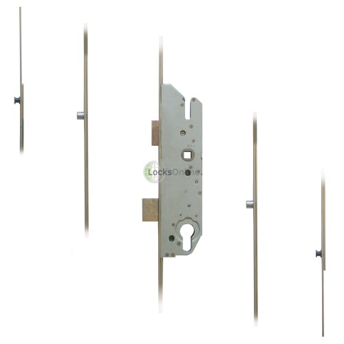 Main photo of FUHR 855-2 2 Mushrooms & 2 Rollers Key-Operated 'Key-Wind' Multipoint Lock