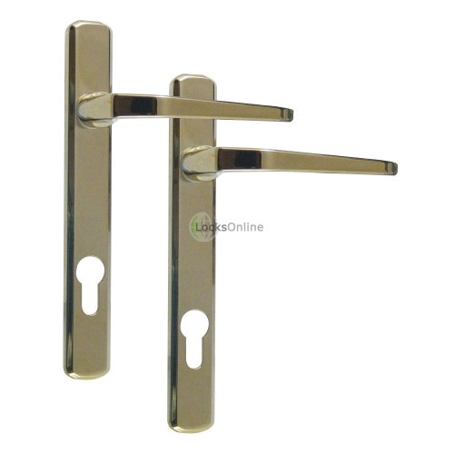 Main photo of AVOCET 92 PZ Corrosion Resistant uPVC Door Handles - 210mm (120mm fixings)