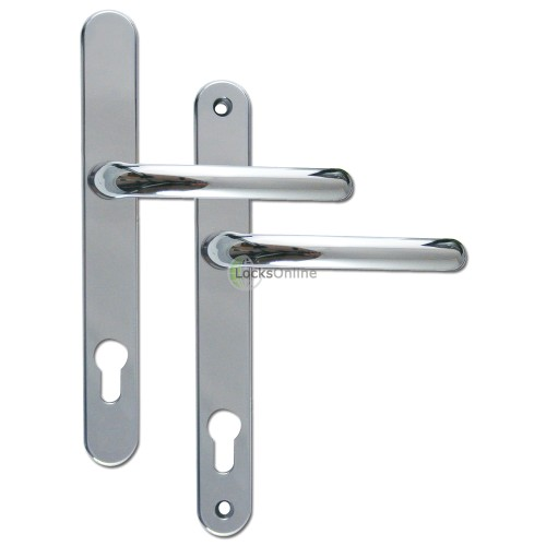 LocksOnline Universal 92PZ uPVC Door Handles 243mm (211mm Fixings)
