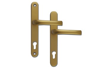 Mila Prolinea 92mm PZ uPVC Door Handles - 240mm (211mm fixings ...